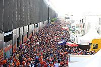 3rd September 2021: Circuit Zandvoort, Zandvoort, Netherlands;   FORMULA 1 HEINEKEN DUTCH GRAND PRIX 2021 crowd at Zandvoort