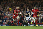 Wales number 8 Taulupe Faletau races away with the ball.<br /> RBS 6 Nations 2014<br /> Wales v Scotland<br /> Millennium Stadium<br /> <br /> 15.03.14<br /> <br /> ©Steve Pope-SPORTINGWALES