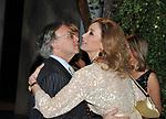 DIEGO DELLA VALLE CON LAURA MORINO  TESO<br /> CHARITY PARTY OFFICINE CAPRONI 03/2010-