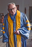 The late  A.S.Neill, founder and head of Summerhill School, Leiston, Suffolk, England.