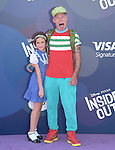Flea and his daughter attends The Disney Pixar L.A. Premiere of Inside Out held at The El Capitan Theatre  in Hollywood, California on June 08,2015                                                                               © 2015 Hollywood Press Agency