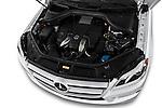 2013 Mercedes GL-Class GL450 Luxury SUV High angle engine detail Stock Photo