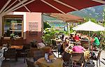Austria, Tyrol, Pertisau at Achen Lake: Café | Oesterreich, Tirol, Pertisau am Achensee: Cafe