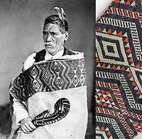 BNPS.co.uk (01202 558833)<br /> Pix: Burstow&Hewett/BNPS<br /> <br /> Chief Rewi Maniapoto.<br /> <br /> A British auction house has withdrawn a rare Maori cloak from sale and called in the police after receiving a torrent of online abuse from irate New Zealanders.<br /> <br /> The hand-woven flax and cotton shawl is understood to have been the property of the 19th century tribal leader Chief Rewi Maniapoto, who is revered to this day in Maori culture.<br /> <br /> It was discovered in a linen cupboard by a couple from East Sussex who planned to sell it with their local auction house for £5,000.<br /> <br /> But its proposed sale led to an avalanche of negative comments from social media trolls from the other side of the world who said the cloak should be returned to the Maori community in New Zealand.