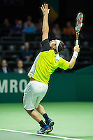 Rotterdam, The Netherlands, Februari 11, 2016,  ABNAMROWTT, Marcos Baghdatis (CYP)<br /> Photo: Tennisimages/Henk Koster