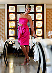 Action Breast Cancer Awareness..Model Aoife Cogan looks pretty in pink celebrating the eighth year of Boots' association with Action Breast Cancer in Dublin's Dylan Hotel.