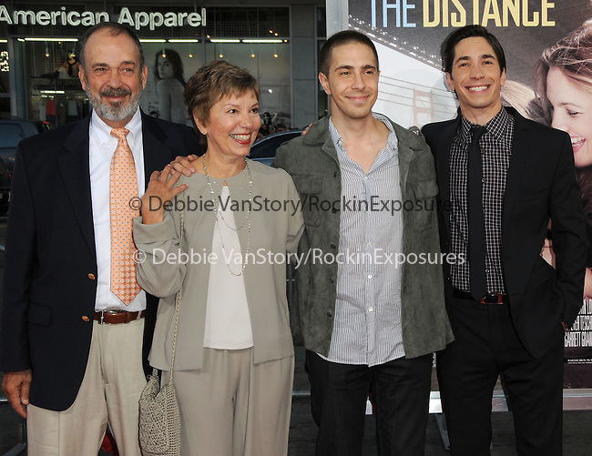 Justin Long & family at the Warner Bros. Pictures' L.A. Premiere of Going the Distance held at The Grauman's Chinese Theatre in Hollywood, California on August 23,2010                                                                               © 2010 Hollywood Press Agency