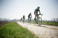 Team Cannondale-Garmin <br /> <br /> 2015 Paris-Roubaix recon