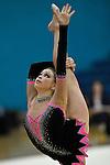 26.06.2011 British Rhythmic Gymnastics Championships from Fenton Manor in Stoke on Trent..Francesca Jones he current British Champion in action