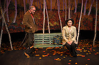 The Kiss by Ger Thijs presented by Upstream Theatre at Kranzberg Center in St. Louis, Missouri on Oct 8, 2015.