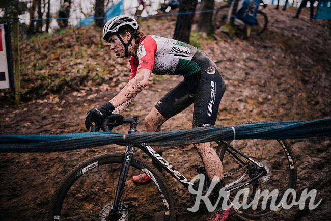 Kata Blanka Vas (HUN)<br /> <br /> Women's race at the X2O Herentals Cross 2020 (BEL)<br /> <br /> ©kramon