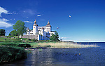 Sweden, Vaestergoetland, baroque castle Laeckoe on island Kallandsoe at Lake Vaenern   Schweden, Vaestergoetland, Barockschloss Laeckoe auf der Insel Kallandsoe im Vaenern-See