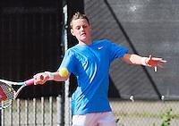 08-08-13, Netherlands, Rotterdam,  TV Victoria, Tennis, NJK 2013, National Junior Tennis Championships 2013, Deney Wassermann<br /> <br /> <br /> Photo: Henk Koster