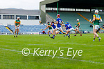 Shane Conway, Kerry scores his side's first goal in the Allianz National Hurling League Division 2A Round 4 at Austin Stack Park, Tralee on Saturday.
