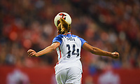 Vancouver, Canada - Thursday November 09, 2017: Casey Short during an International friendly match between the Women's National teams of the United States (USA) and Canada (CAN) at BC Place.