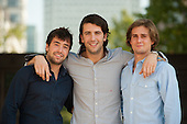 Level39, Canary Wharf: Crowdrooster founders Francesco Gatti, Francesco Fumagalli, Alessandro Rovati.
