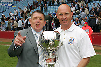 Grays Athletic 1 Hucknall Town 1 - Carlsberg FA Trophy Final at Villa Park, Birmingham - 22/05/05 - Grays clinch the FA Trophy in a thrilling penalty shoot-out competition at Aston Villa Football Club - (Gavin Ellis 2005)