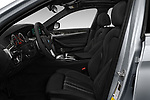 Front seat view of a 2018 BMW 5 Series Sport 4 Door Sedan front seat car photos