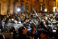 20131120 ROMA-CRONACA: SCONTRI TRA NO-TAV E FORZE DELL'ORDINE