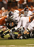 Texas A&M Aggies defensive tackle Jonathan Mathis (92) in action during the Texas A & M vs. Texas Longhorns football game at the Darrell K Royal - Texas Memorial Stadium in Austin, Tx. Texas A & M defeats Texas 24 to 17....