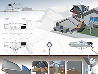 Student entry in FSDA's ADU Competition 2004. David Jacobs.<br /> Board 2.