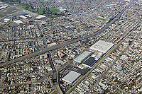 aerial photograph Hayward, Alameda county, California