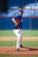 GCL Mets pitcher Kurtis Horne (79) delivers a pitch during the first game of a doubleheader against the GCL Marlins on July 24, 2015 at the St. Lucie Sports Complex in St. Lucie, Florida.  GCL Marlins defeated the GCL Mets 5-4.  (Mike Janes/Four Seam Images)