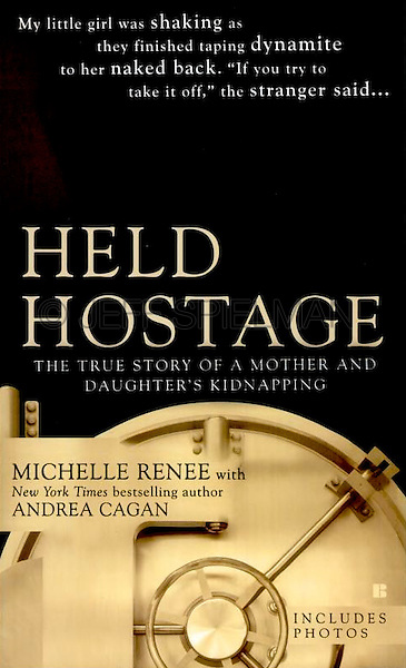 HELD HOSTAGE - The True Story of a Mother and Daughter's Kidnapping, <br /> by Michelle Rene with Andrea Cagan<br /> <br /> 2006 Mass Market Paperback Edition<br /> Berkley Publishing Group/Penguin Group (USA).<br /> Cover Design by Rita Frangie.<br /> <br /> PHOTO AVAILABLE FOR COMMERCIAL OR EDITORIAL LICENSING THRU MY STOCK AGENT GETTY IMAGES. Please go to www.gettyimages.com and search for image # 10070614.