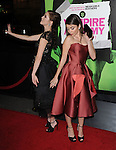Sarah Hyland and Zoey Deutch attends The Weinstein Company L.A. Premiere of Vampire Academy held at The Premiere House at Regal Cinemas L.A. Live Stadium 14 in Los Angeles, California on February 04,2014                                                                               © 2014 Hollywood Press Agency