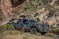 """Movie """"Transformers"""" being filmed near Theodore Roosevelt Dam in Arizona. The film has just started filming and further filming will take place in locations like Ireland, Great Britan and Iceland. <br /> <br /> ©Fredrik Naumann/Felix Features"""