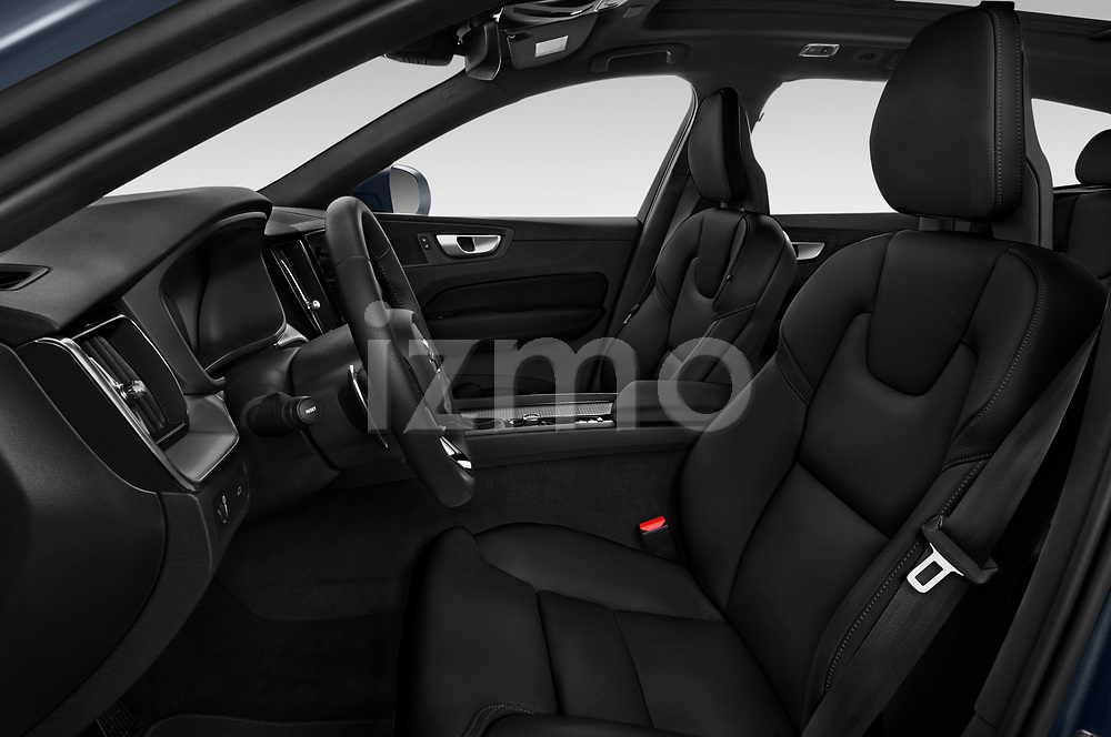 Front seat view of 2020 Volvo XC60 Inscription-T8-eAWD-Plug-in-Hybrid 5 Door SUV Front Seat  car photos