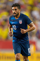 Tampa, FL - Thursday, October 11, 2018: Kenny Saief during a USMNT match against Colombia.  Colombia defeated the USMNT 4-2.