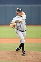 Justin Wilson - Mesa Solar Sox - 2010 Arizona Fall League.Photo by:  Bill Mitchell/Four Seam Images..