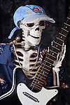 Skeleton Rocks Out with Classic Danelectra guitar!