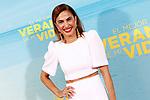 Actress Toni Acosta attends 'El Mejor Verano De Mi Vida' premiere. July 9, 2018. (ALTERPHOTOS/Acero)