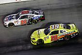 #19: Brandon Jones, Joe Gibbs Racing, Toyota Supra Menards/SoleusAir #98: Chase Briscoe, Stewart-Haas Racing, Ford Mustang Ford Performance