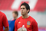 Wales' Brian Stock during the International Friendly between Wales and Luxembourg at Parc y Scarlets in LLanelli..