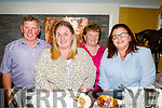 Marion, Martin, Michelle and Liz Gaynor from Ballyheigue enjoying the evening in the Brogue Inn on Friday..