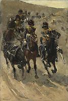 The Yellow Riders, George Hendrik Breitner, 1885 - 1886