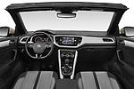 Stock photo of straight dashboard view of 2020 Volkswagen T-Roc Style 5 Door SUV Dashboard