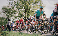 Jakob Fuglsang (DEN/Astana)<br /> <br /> 104th Liège - Bastogne - Liège 2018 (1.UWT)<br /> 1 Day Race: Liège - Ans (258km)