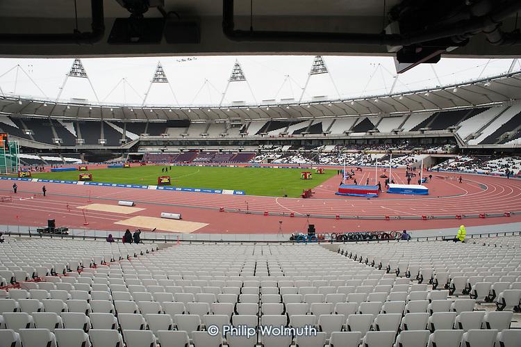 British Universities and Colleges Sport (BUCS) Visa Outdoor Athletics Championships, Olympic Stadium.