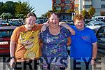 Cliona and Pat Palmer Fossa and Luke Scollard Scartaglen  at the St Pauls BC bingo in Killarney on Sunday