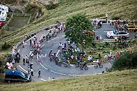 group of GC favorites up the Col de Peyresourde <br /> <br /> Stage 8 from Cazères-sur-Garonne to Loudenvielle 141km<br /> 107th Tour de France 2020 (2.UWT)<br /> (the 'postponed edition' held in september)<br /> ©kramon