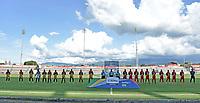 TULUA - COLOMBIA, 20-02-2021: Cortuluá y Tigres F.C. en partido por la fecha 7 como parte del Torneo BetPlay DIMAYOR I 2021 jugado en el estadio Doce de Octubre de la ciudad de Tuluá. / Cortulua and Tigres F.C. in the match for the date 7 as part of BetPlay DIMAYOR Tournament I 2021 played at Doce de Octubre stadium in Tulua city. Photo: VizzorImage / Gabriel Aponte / Staff