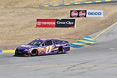 Monster Energy NASCAR Cup Series<br /> Toyota/Save Mart 350<br /> Sonoma Raceway, Sonoma, CA USA<br /> Sunday 25 June 2017<br /> Denny Hamlin, Joe Gibbs Racing, FedEx Ground Toyota Camry<br /> World Copyright: John K Harrelson<br /> LAT Images