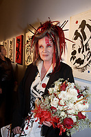 Montreal CANADA - Nov 5th 2007 - Vernissage of<br />  EFFUSIONS : singer Diane Dufresne exhibit at SAT