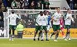 St Johnstone v Celtic…07.10.18…   McDiarmid Park    SPFL<br />Odsonne Edouard celebrates his goal<br />Picture by Graeme Hart. <br />Copyright Perthshire Picture Agency<br />Tel: 01738 623350  Mobile: 07990 594431