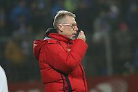 Trainer Peter Stoeger (Koeln) - SV Darmstadt 98 vs. 1. FC Koeln, Stadion am Boellenfalltor