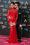 Macarena Gomez attend the 2015 Goya Awards at Auditorium Hotel, Madrid,  Spain. February 07, 2015.(ALTERPHOTOS/)Carlos Dafonte)